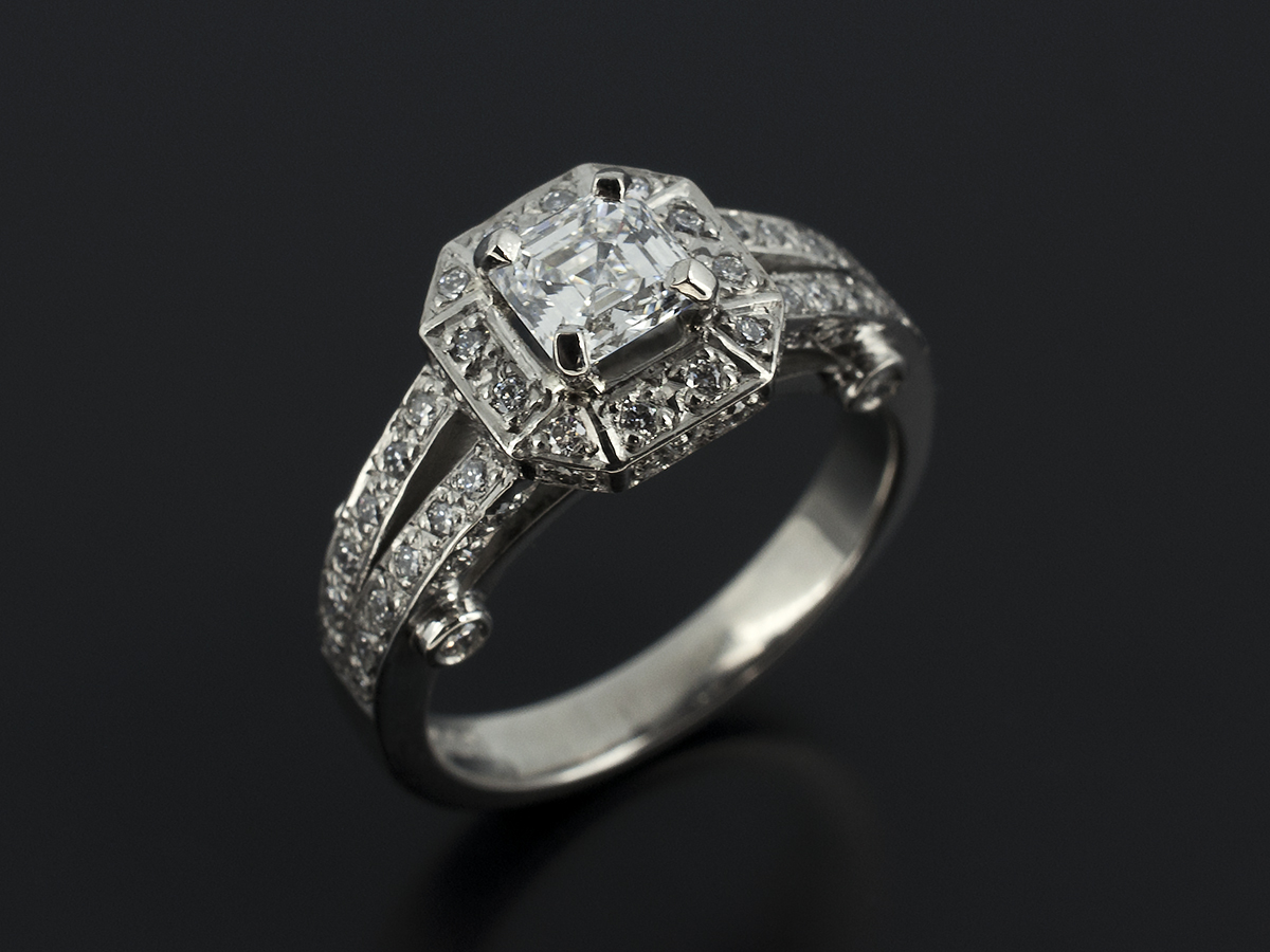 ring citroen en entourage royal brands asscher diamond schaap