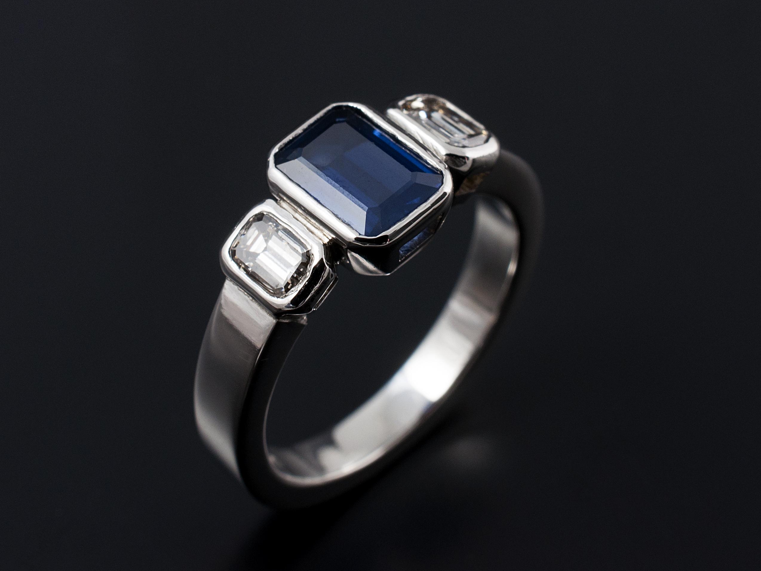 Emerald And Asscher Cut Diamond Engagement Rings Gallery