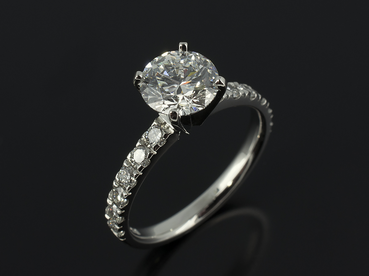 brilliant cut engagement rings gallery