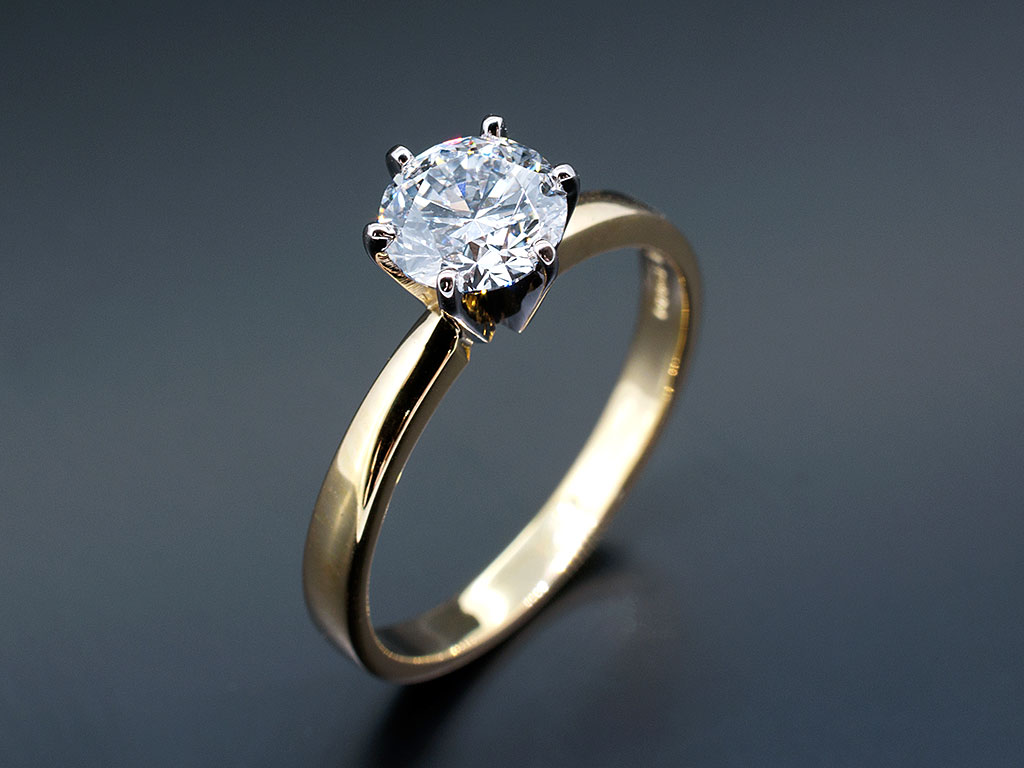 Round Brilliant Cut Diamond Engagement Rings Gallery