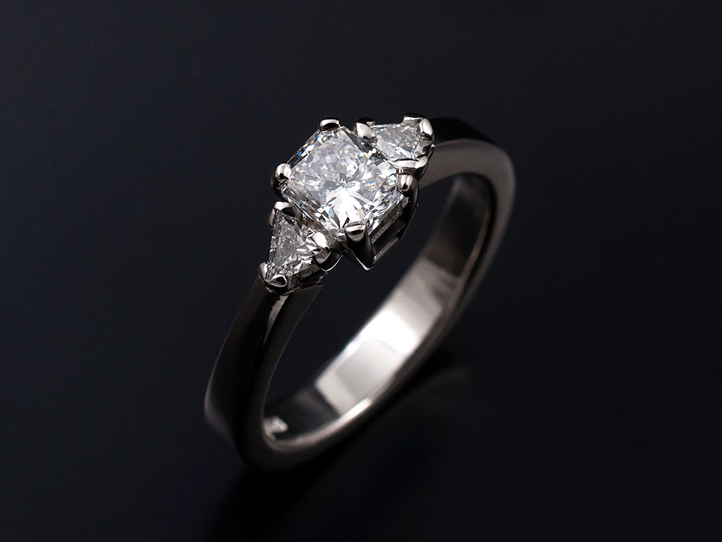Radiant And Korloff Cut Diamond Engagement Rings Glasgow