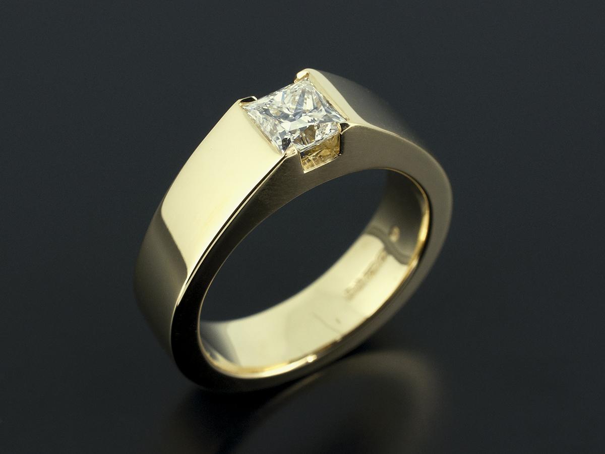 Princess Cut Diamond Engagement Rings Glasgow Scotland Uk