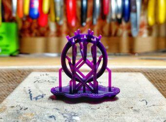 Bespoke ring CAD wax model