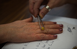Bespoke rings and jewellery, one-to-one design consultation with Blair and Sheridan