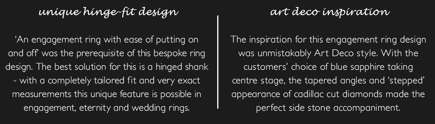 bespoke rings descriptions
